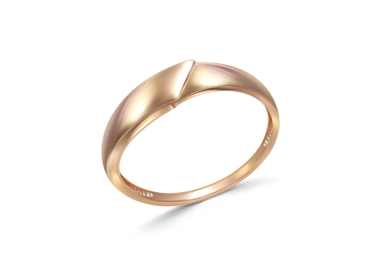 Кольцо из красного золота0